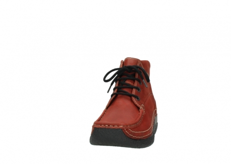 wolky lace up boots 06242 roll shoot 11542 winter red nubuck_20