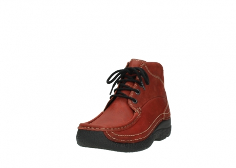wolky lace up boots 06242 roll shoot 11542 winter red nubuck_21