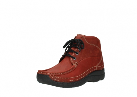 wolky lace up boots 06242 roll shoot 11542 winter red nubuck_22