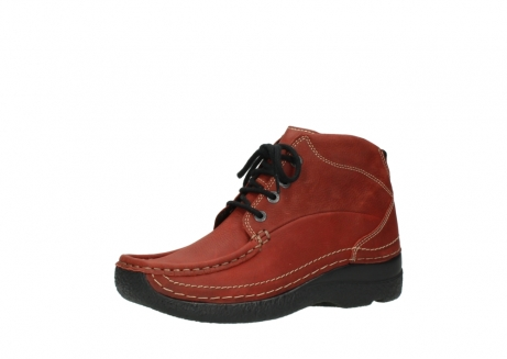 wolky lace up boots 06242 roll shoot 11542 winter red nubuck_23