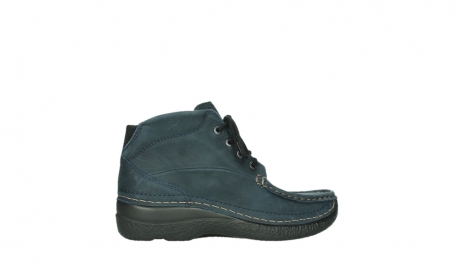 wolky bottines a lacets 06242 roll shoot 11802 nubuck bleu_2