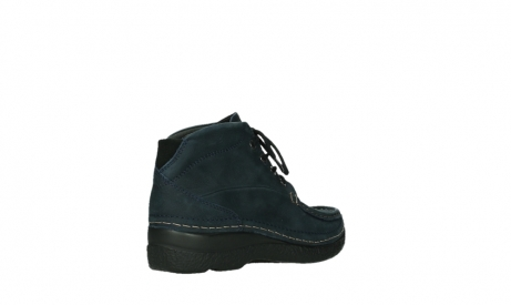 wolky bottines a lacets 06242 roll shoot 11802 nubuck bleu_4