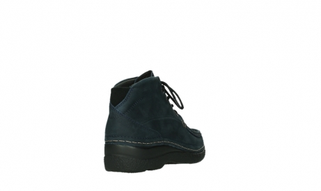 wolky bottines a lacets 06242 roll shoot 11802 nubuck bleu_5
