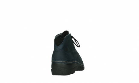 wolky bottines a lacets 06242 roll shoot 11802 nubuck bleu_6