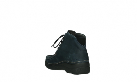 wolky bottines a lacets 06242 roll shoot 11802 nubuck bleu_9
