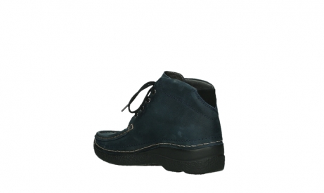 wolky bottines a lacets 06242 roll shoot 11802 nubuck bleu_10