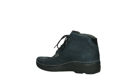 wolky bottines a lacets 06242 roll shoot 11802 nubuck bleu_11