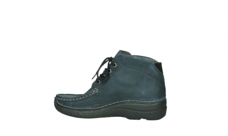 wolky bottines a lacets 06242 roll shoot 11802 nubuck bleu_12