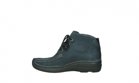 wolky bottines a lacets 06242 roll shoot 11802 nubuck bleu_13