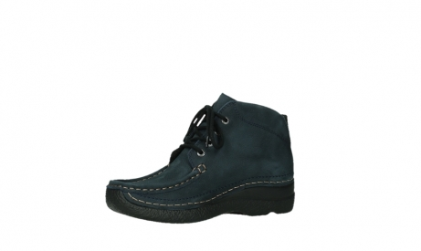 wolky bottines a lacets 06242 roll shoot 11802 nubuck bleu_15
