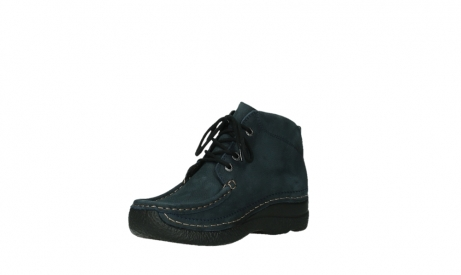 wolky bottines a lacets 06242 roll shoot 11802 nubuck bleu_16