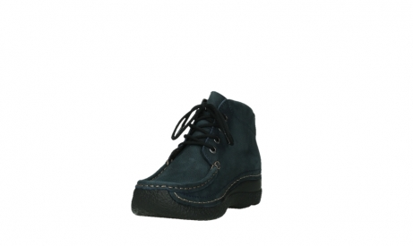wolky bottines a lacets 06242 roll shoot 11802 nubuck bleu_17