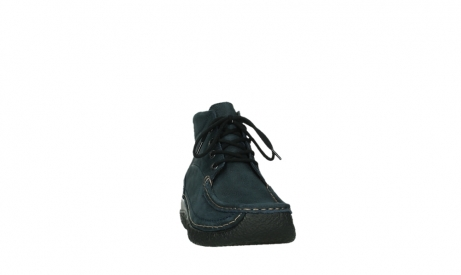 wolky bottines a lacets 06242 roll shoot 11802 nubuck bleu_20