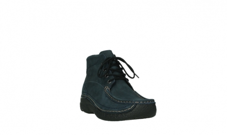 wolky bottines a lacets 06242 roll shoot 11802 nubuck bleu_21