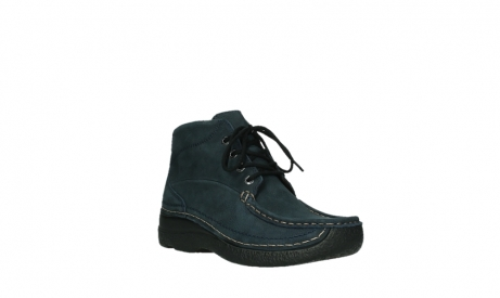 wolky bottines a lacets 06242 roll shoot 11802 nubuck bleu_22