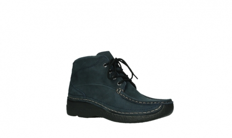 wolky bottines a lacets 06242 roll shoot 11802 nubuck bleu_23