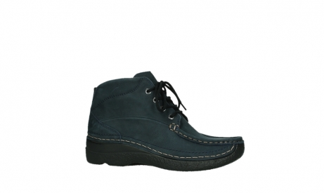 wolky bottines a lacets 06242 roll shoot 11802 nubuck bleu_24
