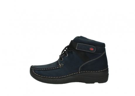 wolky lace up boots 06294 seamy destiny 50800 blue oiled leather_1