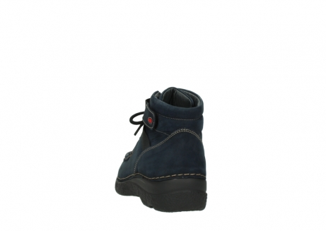 wolky lace up boots 06294 seamy destiny 50800 blue oiled leather_6