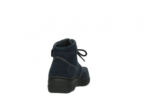 wolky lace up boots 06294 seamy destiny 50800 blue oiled leather_8