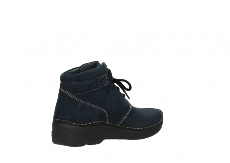 wolky lace up boots 06294 seamy destiny 50800 blue oiled leather_10