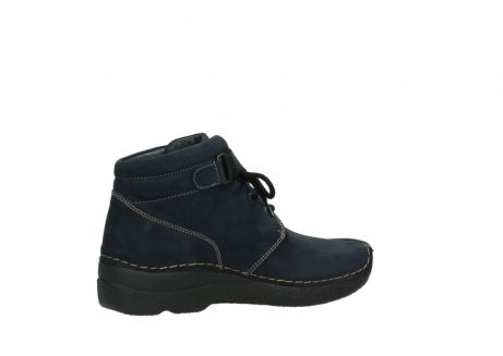 wolky lace up boots 06294 seamy destiny 50800 blue oiled leather_11