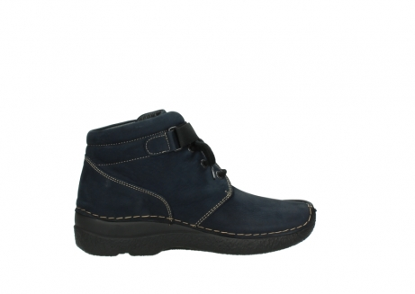 wolky lace up boots 06294 seamy destiny 50800 blue oiled leather_12