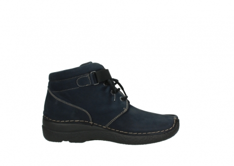 wolky lace up boots 06294 seamy destiny 50800 blue oiled leather_13