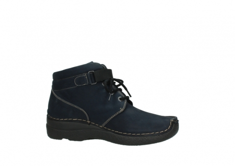 wolky lace up boots 06294 seamy destiny 50800 blue oiled leather_14