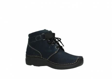 wolky lace up boots 06294 seamy destiny 50800 blue oiled leather_15