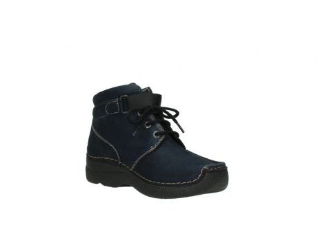 wolky lace up boots 06294 seamy destiny 50800 blue oiled leather_16