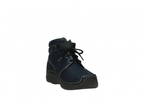 wolky lace up boots 06294 seamy destiny 50800 blue oiled leather_17