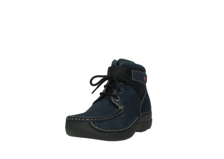 wolky lace up boots 06294 seamy destiny 50800 blue oiled leather_21