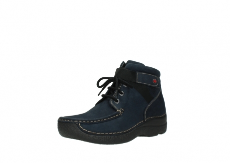 wolky lace up boots 06294 seamy destiny 50800 blue oiled leather_22