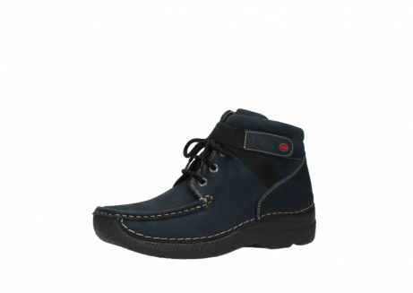 wolky lace up boots 06294 seamy destiny 50800 blue oiled leather_23