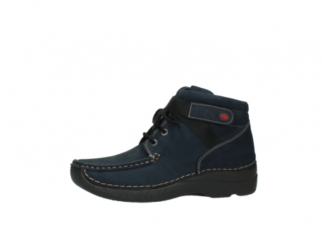 wolky lace up boots 06294 seamy destiny 50800 blue oiled leather_24
