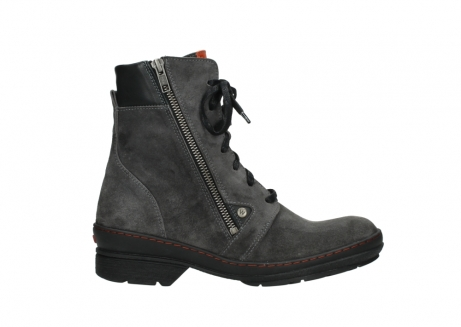 wolky lace up boots 07640 partizan 40210 anthracite suede_1