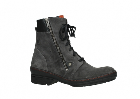 wolky lace up boots 07640 partizan 40210 anthracite suede_2