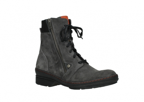 wolky lace up boots 07640 partizan 40210 anthracite suede_3