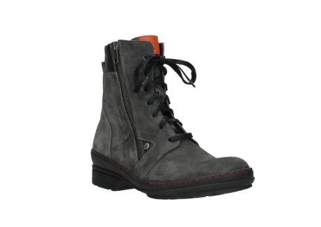 wolky lace up boots 07640 partizan 40210 anthracite suede_4
