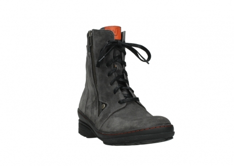 wolky lace up boots 07640 partizan 40210 anthracite suede_5