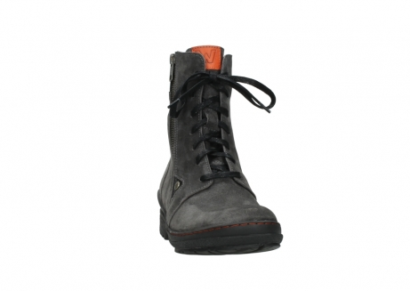 wolky lace up boots 07640 partizan 40210 anthracite suede_6