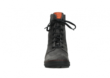 wolky lace up boots 07640 partizan 40210 anthracite suede_7