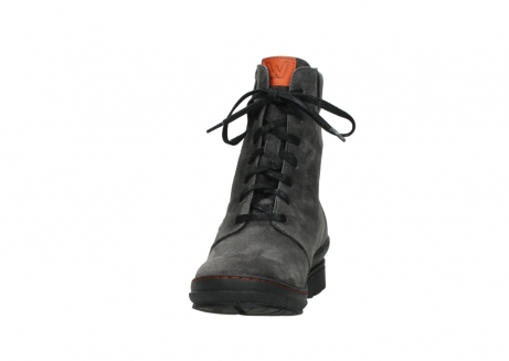 wolky lace up boots 07640 partizan 40210 anthracite suede_8