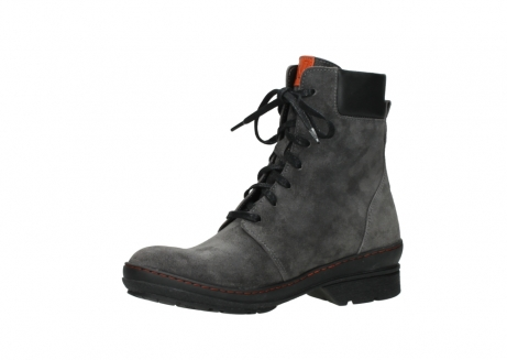 wolky lace up boots 07640 partizan 40210 anthracite suede_11
