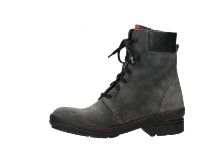 wolky lace up boots 07640 partizan 40210 anthracite suede_12