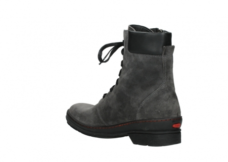 wolky lace up boots 07640 partizan 40210 anthracite suede_16