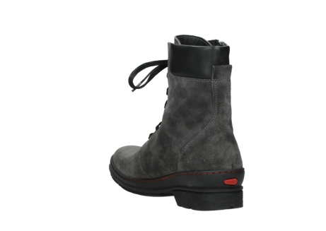 wolky lace up boots 07640 partizan 40210 anthracite suede_17