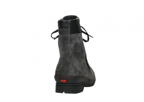 wolky lace up boots 07640 partizan 40210 anthracite suede_20
