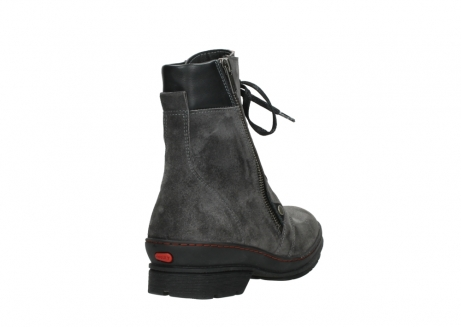 wolky lace up boots 07640 partizan 40210 anthracite suede_21
